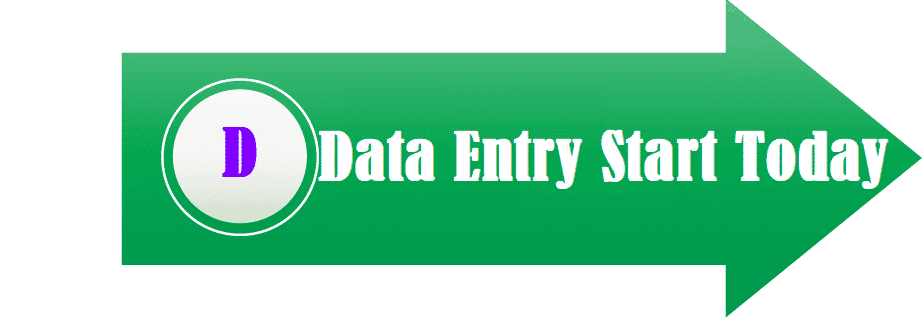 Online Data Entry Work – Start Today